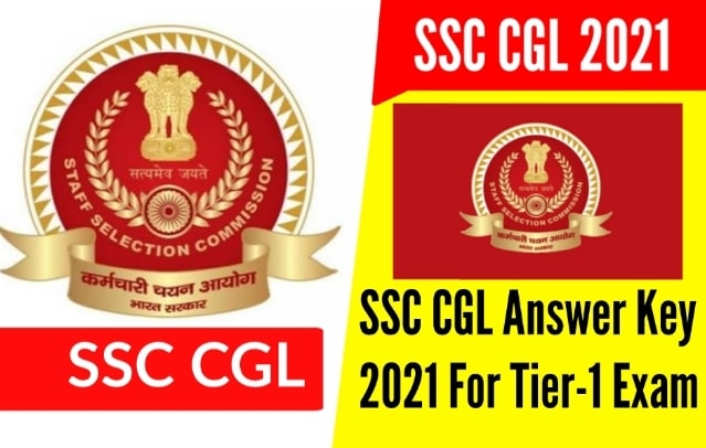 SSC CGL Answer Key 2021 For Tier-1 Online Examination
